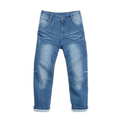 Джинсы для мальчика, возраст 11 лет, цвет синий