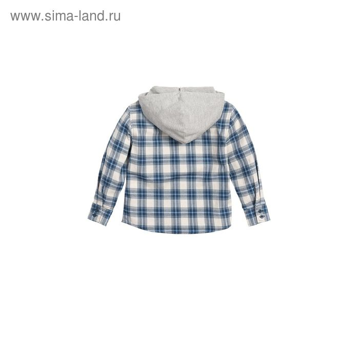 Сорочка верхняя для мальчиков, 4 года, цвет Серый BWJX372