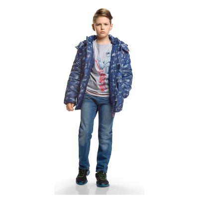 Джинсы для мальчика, 14 лет, цвет синий BWP575/1