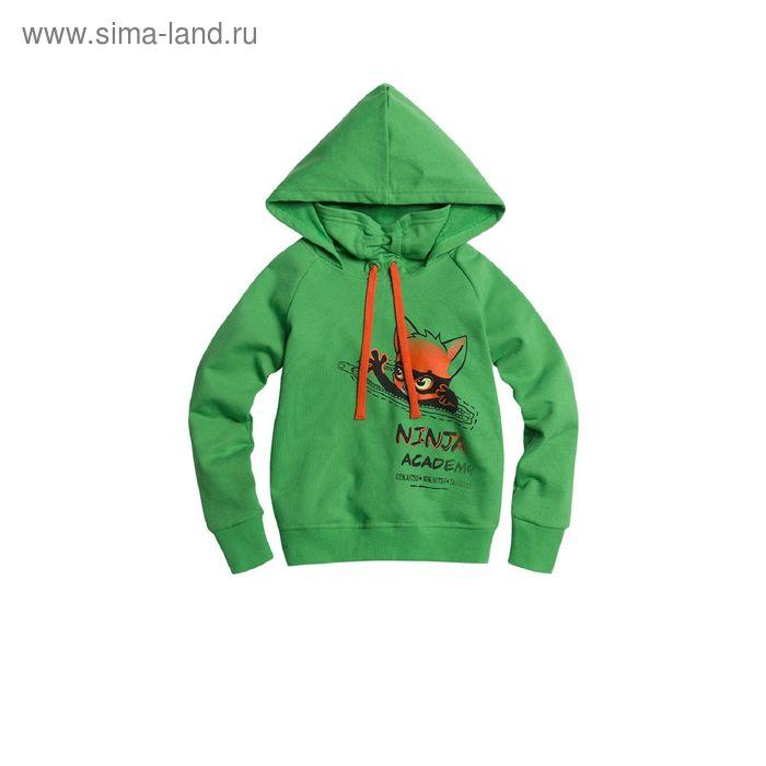 Джемпер для мальчиков, 1 год, цвет Зеленый BJK373