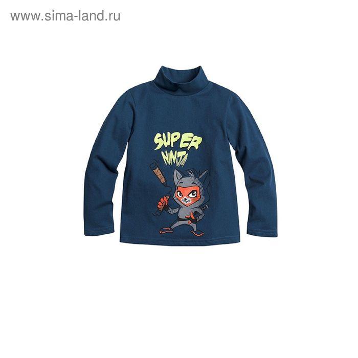 Джемпер для мальчиков, 1 год, цвет Синий BJN373