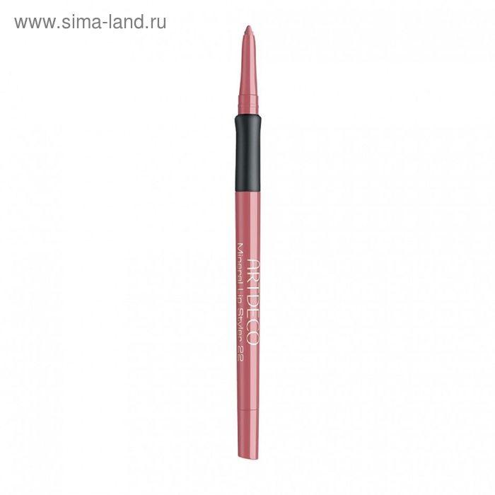 Минеральный карандаш для губ Artdeco Mineral, тон 22, 0,4 г