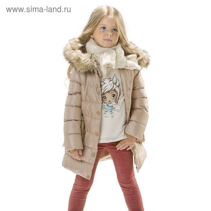 Брюки для девочек, 6 лет, цвет Терракотовый GWP3003/1