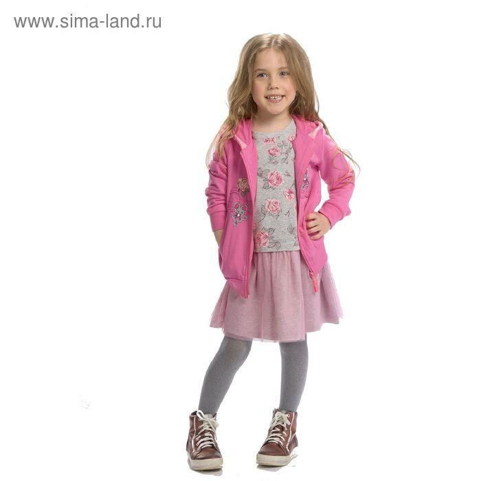 Платье для девочек, 1 год, цвет Серый GDJ3005