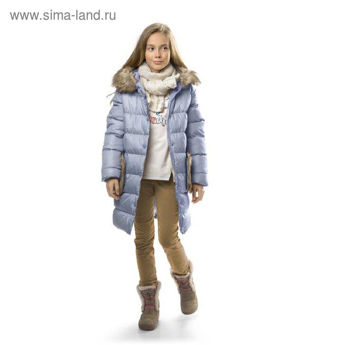 Брюки для девочек, 8 лет, цвет Бежевый GWP4003/1