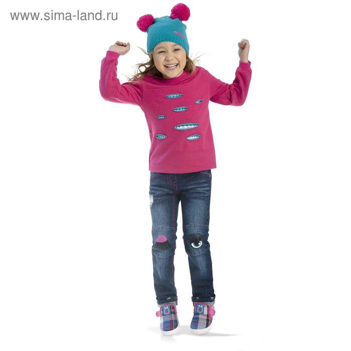 Джемпер для девочек, 1 год, цвет Малиновый GJR3002