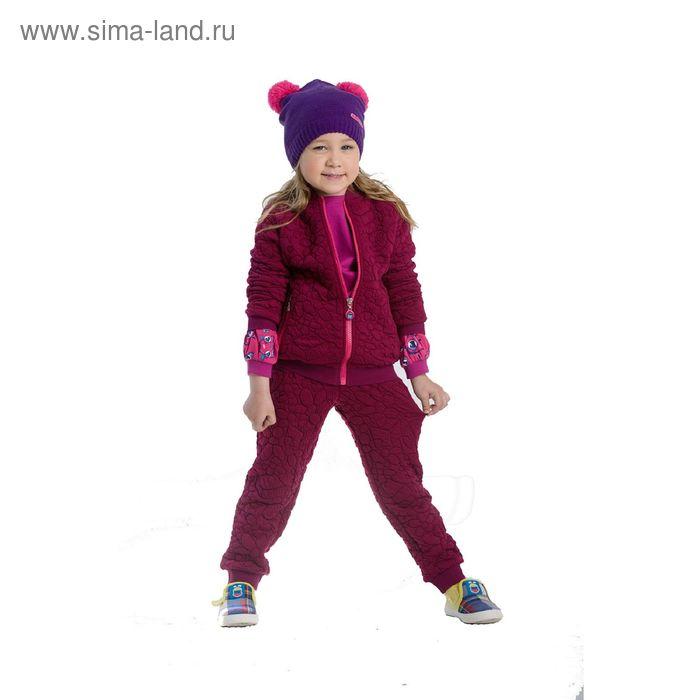 Джемпер для девочек, 1 год, цвет Лиловый GJX3002