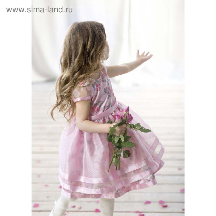 Платье для девочек, 4 года, цвет Розовый GWDT3005