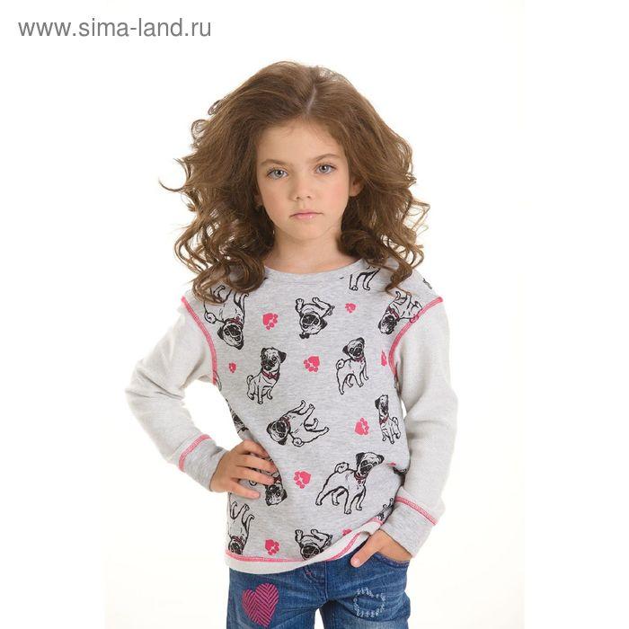 Джемпер для девочек, 2 года, цвет Серый GJR3006