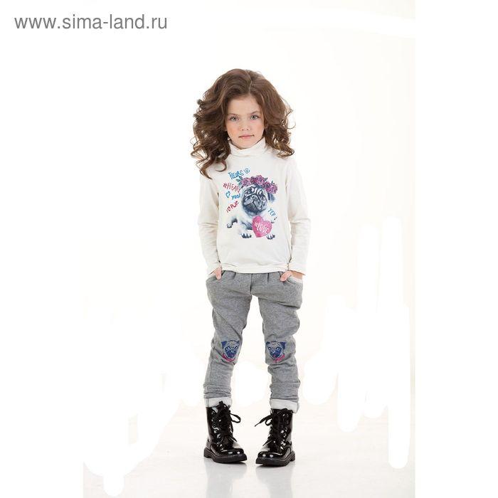 Брюки для девочек, 5 лет, цвет Серый GP3006