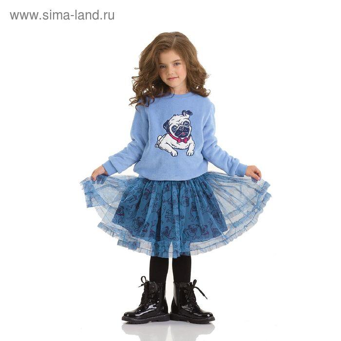 Юбка для девочек, 2 года, цвет Синий GS3006