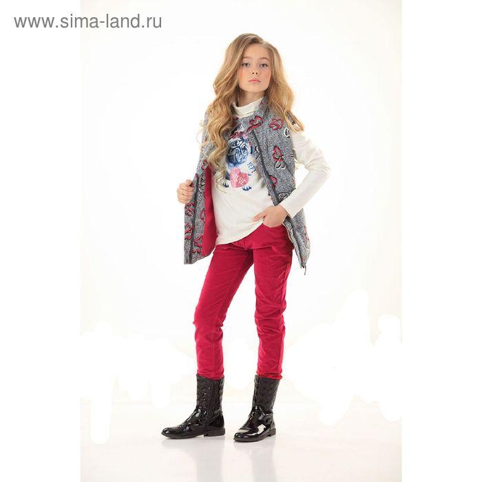 Брюки для девочек, 8 лет, цвет Красный GWP4006/2