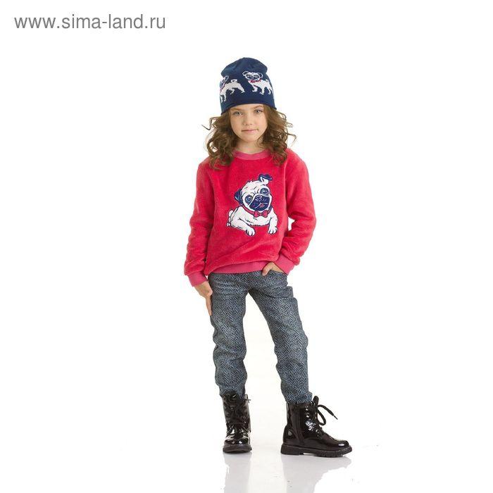Джемпер для девочек, 1 год, цвет Малиновый GJR3006/1