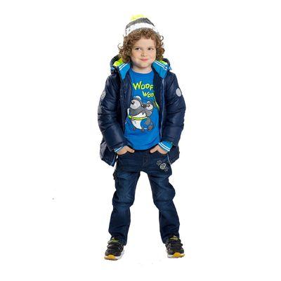 Джинсы для мальчика, 3 года, цвет синий BWP376
