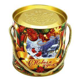 Подарочная коробка, тубус 'Холодок' 12х12 см Ош