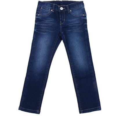 Джинсы для девочки, рост 104 см, цвет синий 2181_Д