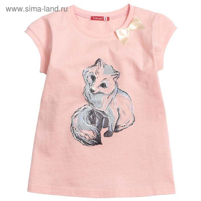 Футболка для девочек, 1 год, цвет Розовый GTR3003