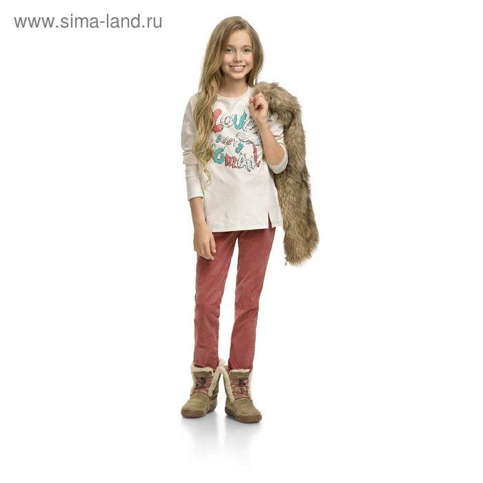Джемпер для девочек, 10 лет, цвет Молочный GJR4003