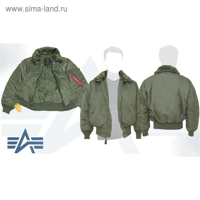 Куртка утеплённая B-15 Alpha Industries Sage Green, M
