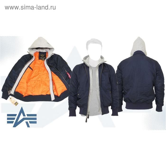 Куртка утеплённая MA-1 D-Tec X Alpha Industries Replica Blue, M