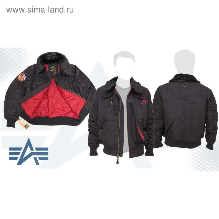 Куртка утеплённая Injector X Alpha Industries Washed Black, 2XL