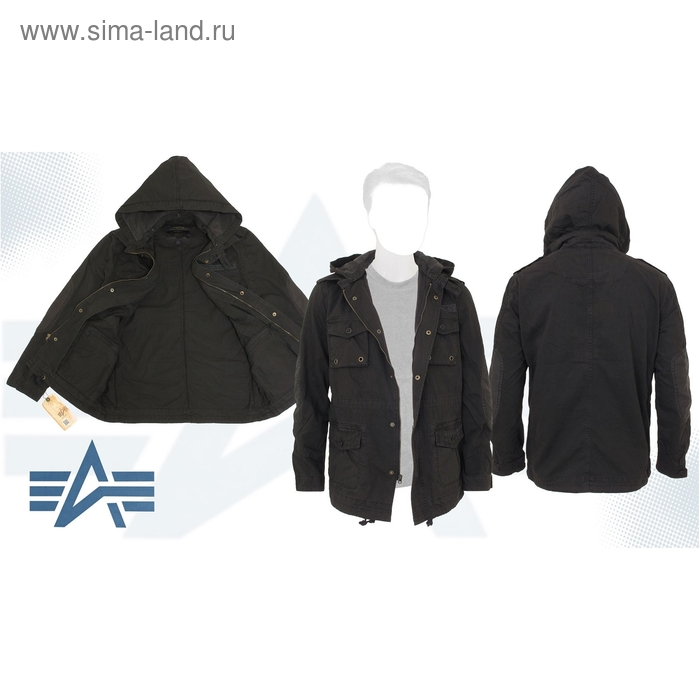 Куртка Mcmillian Alpha Industries Black, S