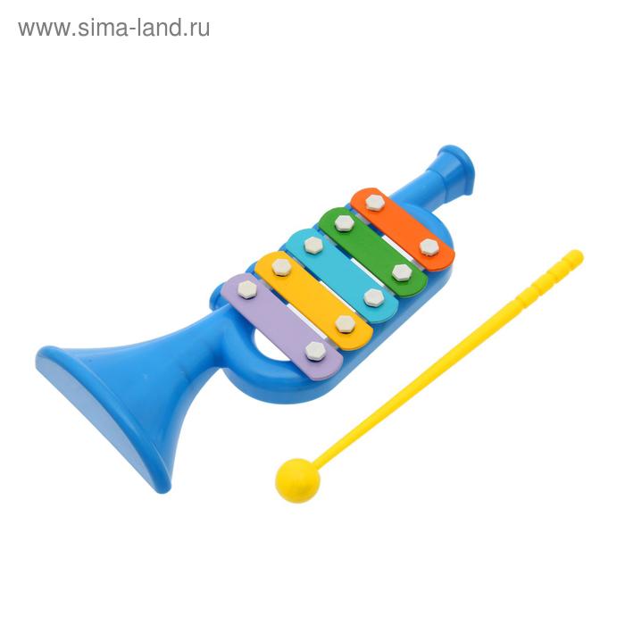 """Металлофон """"Труба"""", цвета МИКС"""