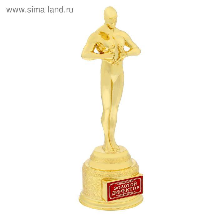 """Мужская фигура """"Золотой директор"""""""