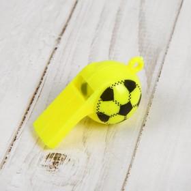 Свисток «Футбол», цвета МИКС в Донецке