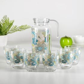 "Набор питьевой ""Уоркшоп. Blue Dream"": кувшин 1,3 л, 6 стаканов 285 мл"