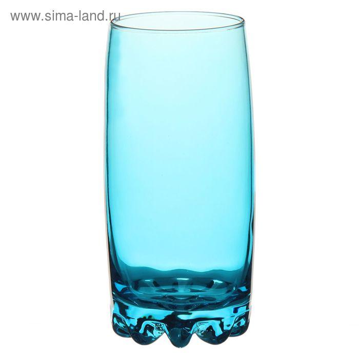 "Стакан 385 мл ""Сильвана. Enjoy"", цвет голубой"