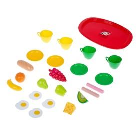 Набор посуды с продуктами «Завтрак», МИКС