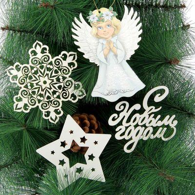 Набор для оформления Нового года «Ангелы»