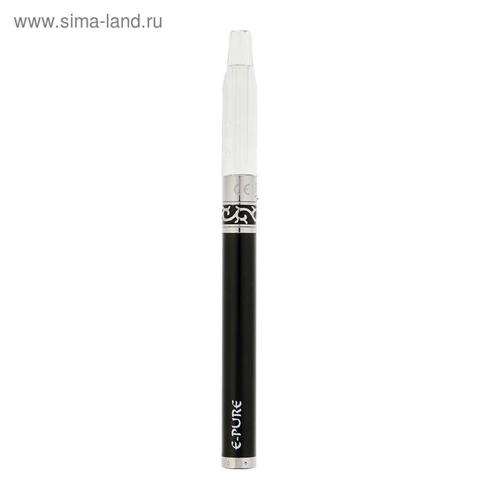 """Электронный испаритель """"E-Pure"""", 650 mAh, черный, активация от затяжки, 17х2х5 см"""