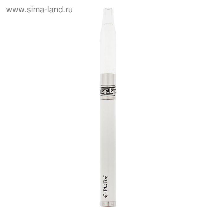 """Электронный испаритель """"E-Pure"""", 650 mAh, белый, активация от затяжки, 17х2х5 см"""