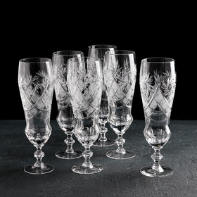 Набор бокалов для пива НЕМАН «Мельница», 6 шт, 350 мл