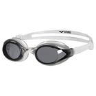 Очки для плавания ARENA Sprint, ДЫМЧАТЫЕ линзы, нерегулир.перенос. черная оправа