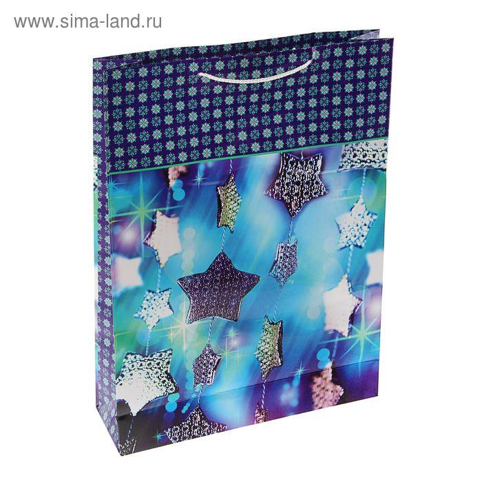 """Пакет подарочный """"Футаж"""", 45.5 х 33 х 10 см"""