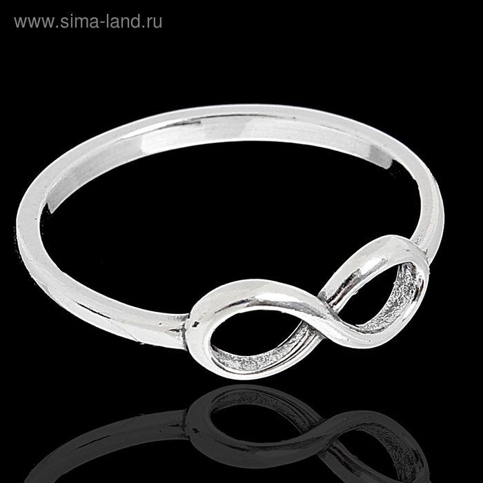 """Кольцо """"Снуд"""", размер 16, цвет чернёное серебро"""