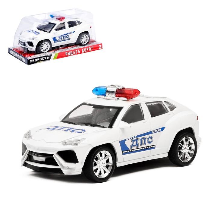 Машина инерционная «Полицейский джип», МИКС - фото 105656307