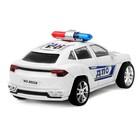Машина инерционная «Полицейский джип», МИКС - фото 105656309