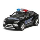 Машина инерционная «Полицейский джип», МИКС - фото 105656310