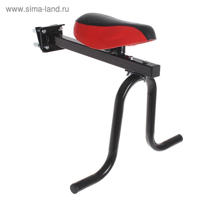 Детское сиденье без ручки, цвет чёрный