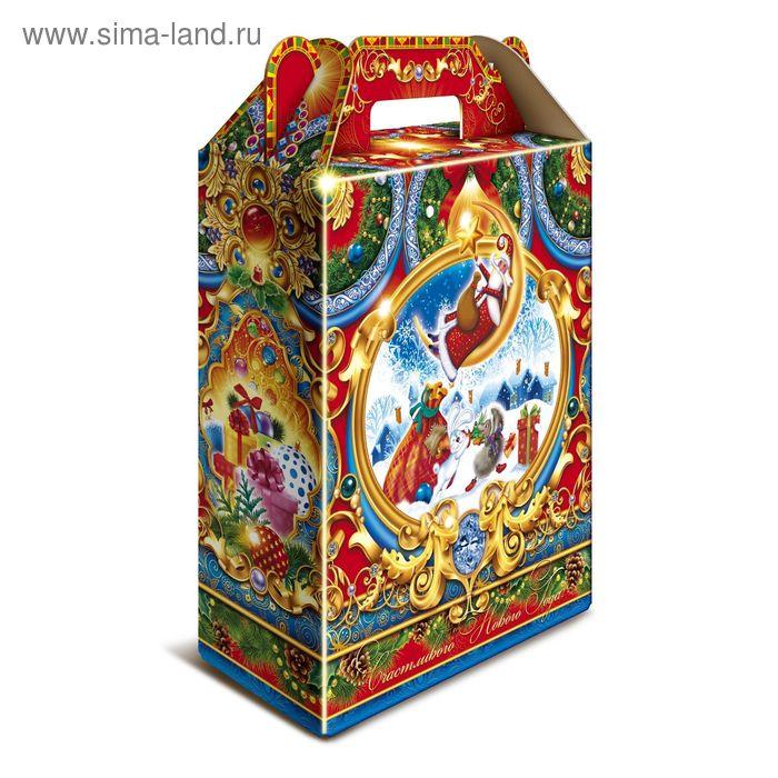 """Подарочная коробка """"Фантазия"""", подарок, сборная, 16,8 х 6,8 х 20,5 см"""