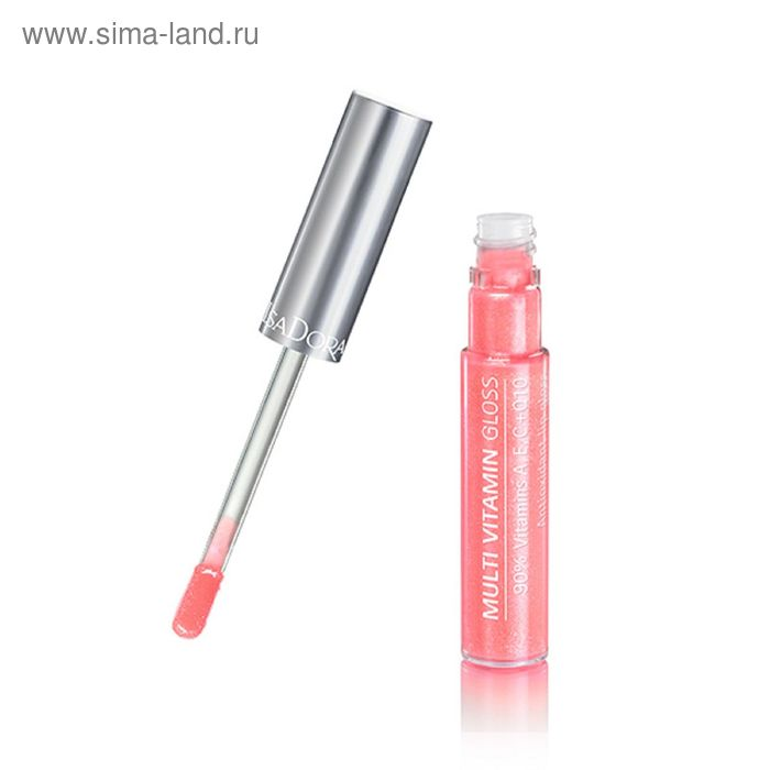 Блеск для губ IsaDora Multi Vitamin, мультивитаминный, тон 05, 7 мл