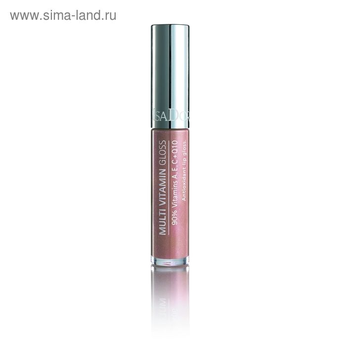 Блеск для губ IsaDora Multi Vitamin, мультивитаминный, тон 02, 7мл