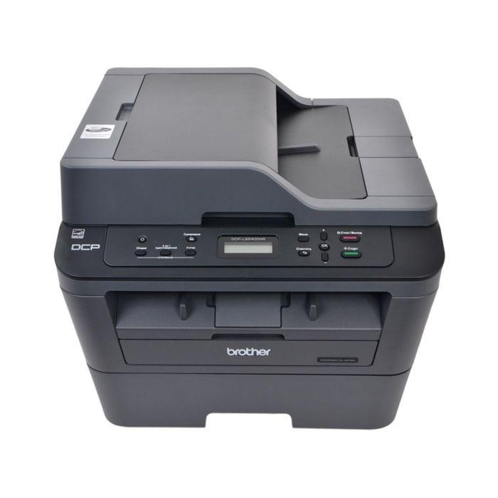 МФУ, лазерная черно-белая печать Brother DCP-L2540DNR, А4, Duplex, LAN