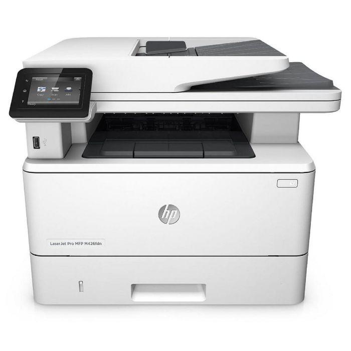 МФУ, лазерная черно-белая печать HP LaserJet Pro M426fdn RU (F6W17A), А4, Duplex