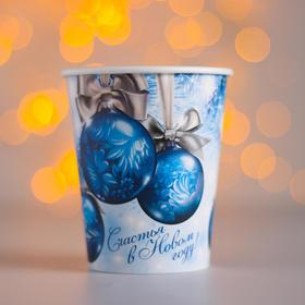 """Glass paper """"happy New year"""" balloons (250 ml)"""