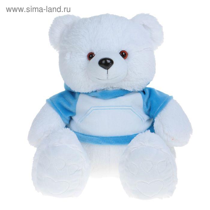 Мягкая игрушка «Медведь Эдди», цвет белый
